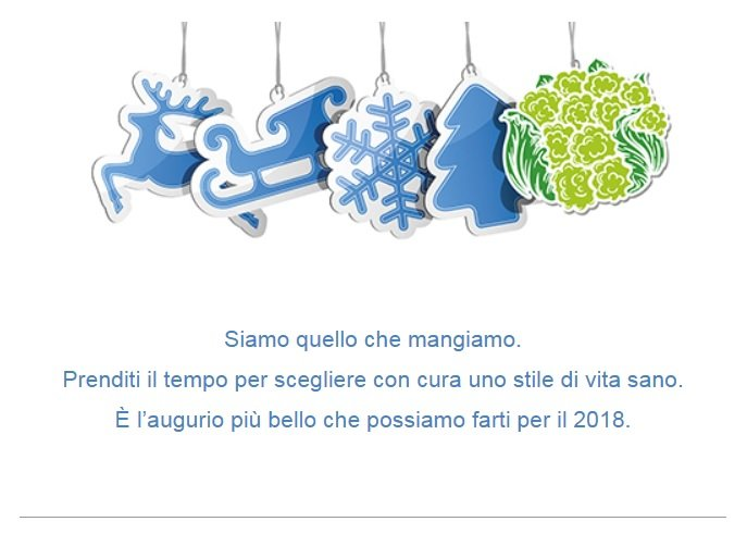 Chiusura festività natalizie 2017-2018