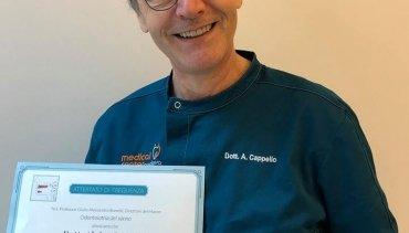 Master in Odontoiatria del Sonno: il traguardo del dott. Cappello
