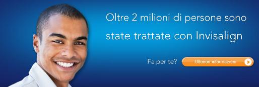 Invisalign®, l'alternativa trasparente all'apparecchio utilizzata da Medical Center Padova raggiunge quota 2.000.000 pazienti!