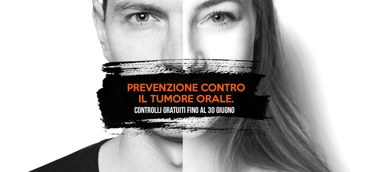 Prevenzione contro il tumore orale. Controlli gratuiti fino al 30 Giugno