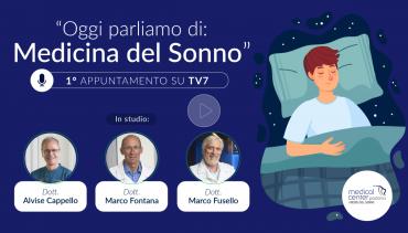 Medicina del sonno. Intervista TV agli specialisti di Medical Center Padova